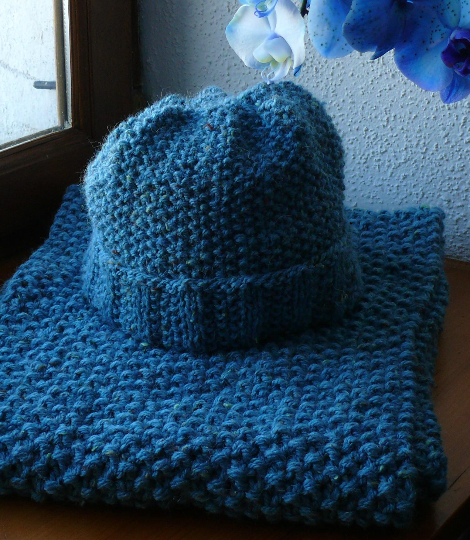 Mod le tricot echarpe pour debutant - Modele tricot bebe gratuit debutant ...