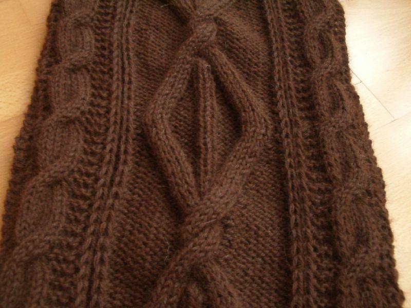 0f67c268dd99 apparence modèle tricot echarpe point irlandais bouton source