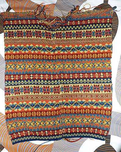 modèle tricot norvegien gratuit