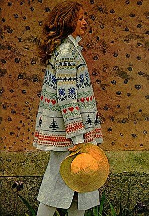patron tricot norvegien