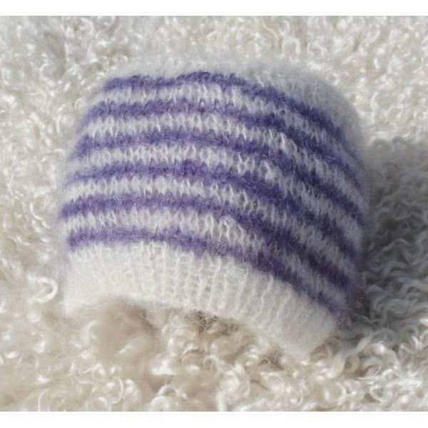 Exemple mod le tricot bonnet b b facile - Modele de bonnet a tricoter facile ...