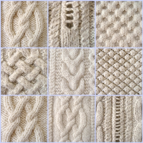 exemple point tricot