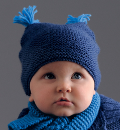 modele gratuit bonnet bebe tricot