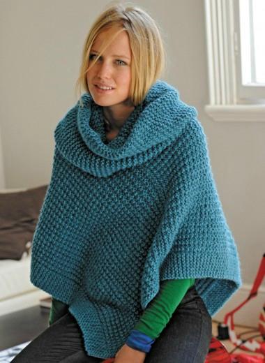 modèle tricot echarpe point irlandais