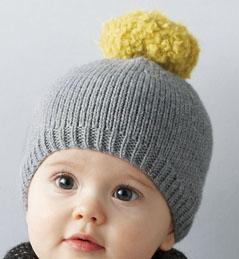 modele bonnet bebe a tricoter