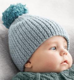 tricoter un bonnet de bebe facile