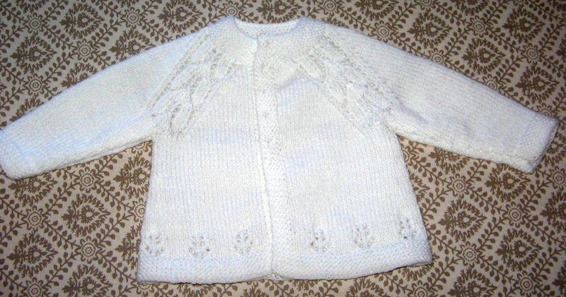 modèle tricot layette avec explication