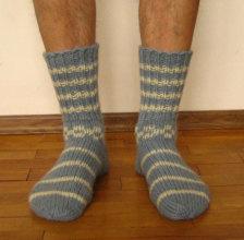 modèle tricot chaussettes femmes