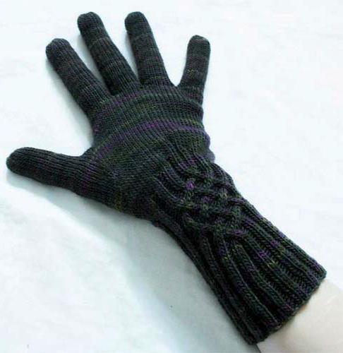 modèle tricot gant