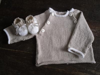 modele tricot layette original