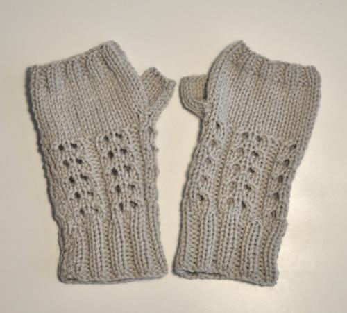 patron mitaine en tricot