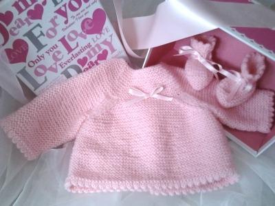 patron tricot brassiere bébé