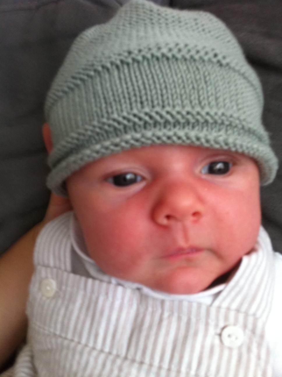 modele tricot bonnet bebe facile gratuit