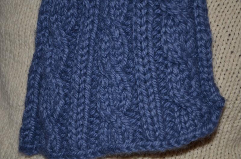 mod232le tricot echarpe pour debutant