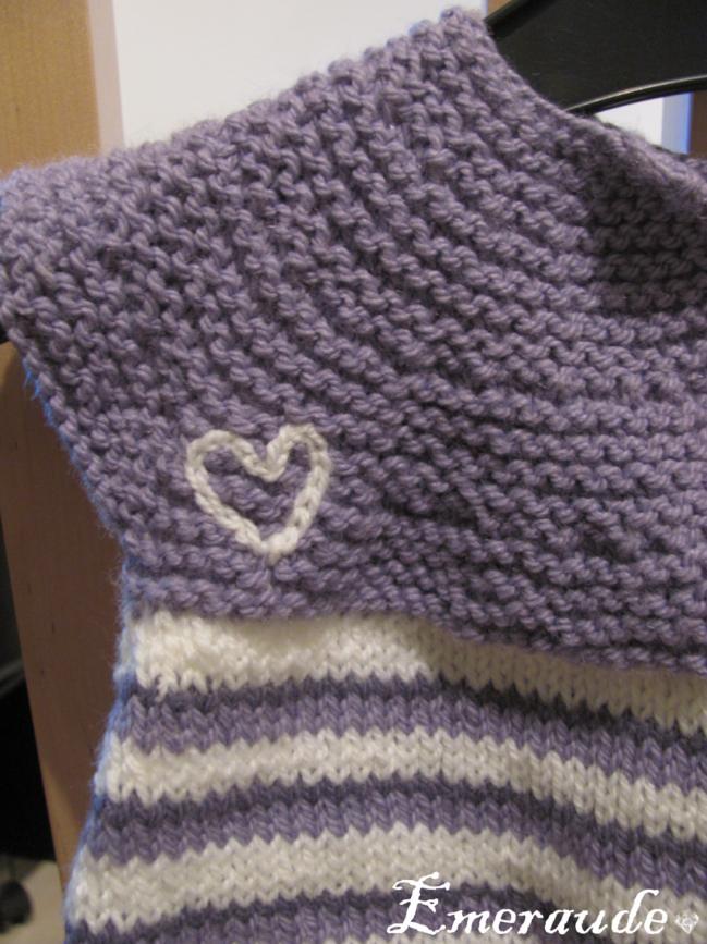 R alisation patron gratuit tricot robe 2 ans - Cote 2 2 tricot ...