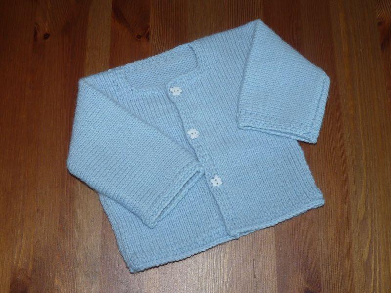 Mod le tricot b b brassiere - Tuto tricot debutant gratuit ...