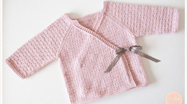 modèle tricot brassiere bébé