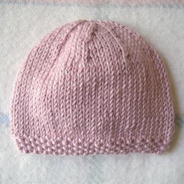 Patron tricot bonnet bebe facile - Comment tricoter un bonnet pour bebe ...
