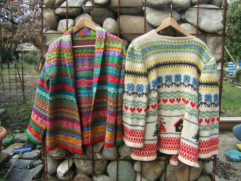 modele tricot jacquard