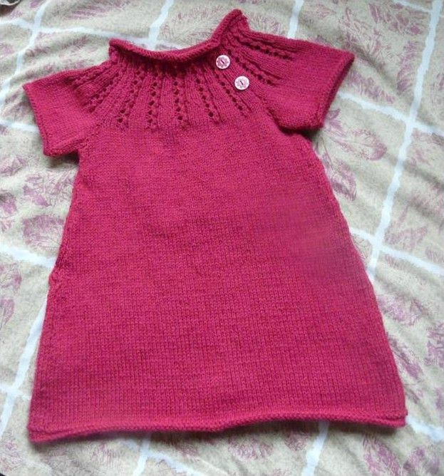 modele robe tricot gratuit