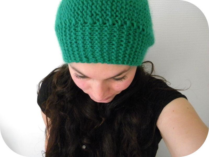 tricoter un bonnet aiguille 7. Black Bedroom Furniture Sets. Home Design Ideas