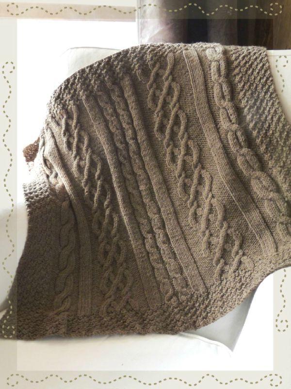 modèle tricot couverture bébé gratuit