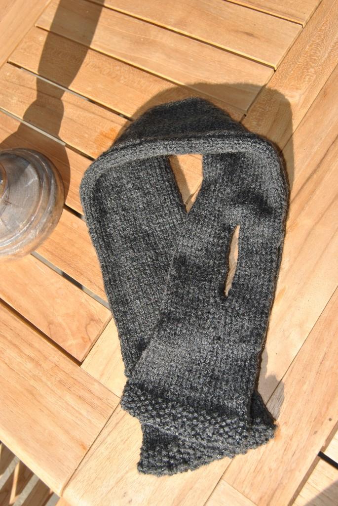 Comment tricoter une fente - Faire une boutonniere tricot ...