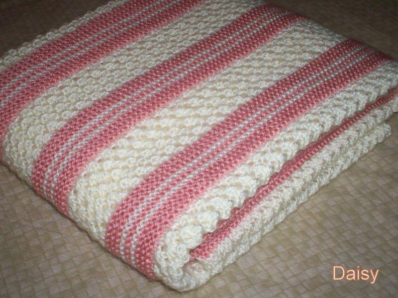 affichage patron tricot couverture b b crochet. Black Bedroom Furniture Sets. Home Design Ideas