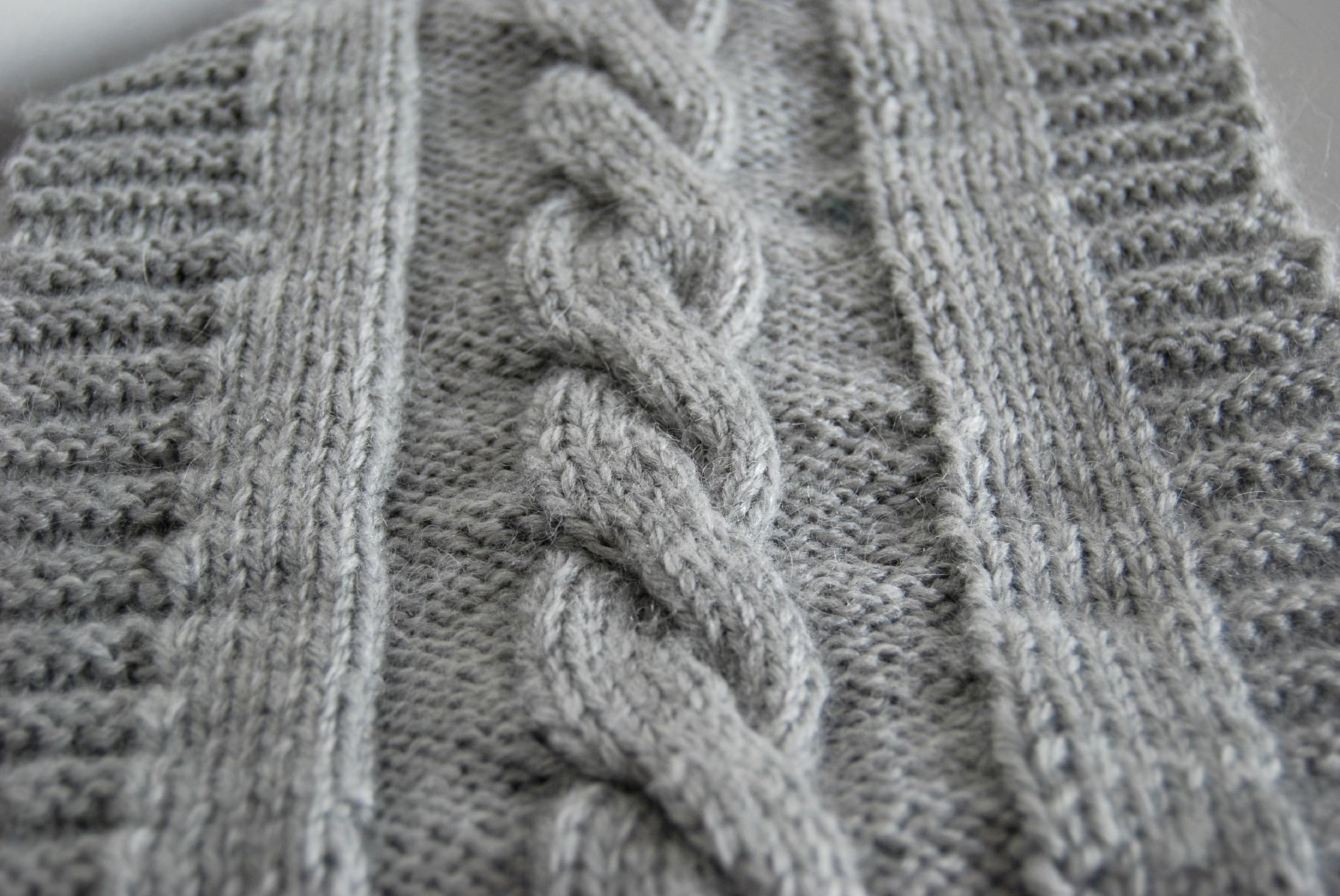 modèle tricot a torsade