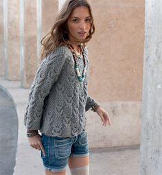 modèle tricot a la mode