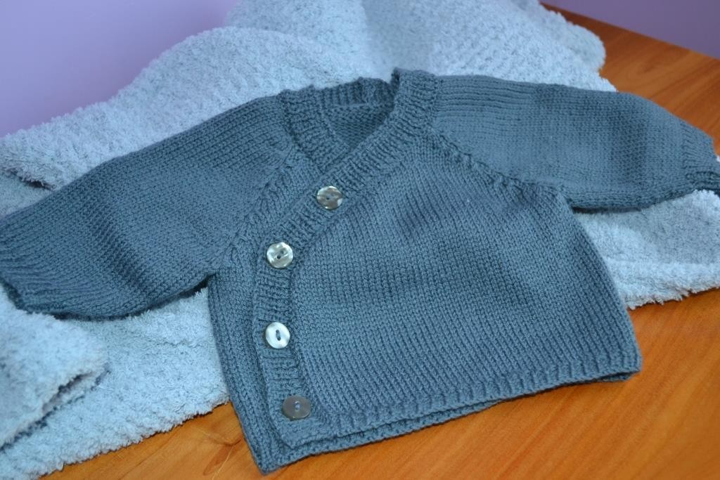 modèle tricot bébé coton