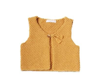 patron tricot gilet sans manche bebe. Black Bedroom Furniture Sets. Home Design Ideas