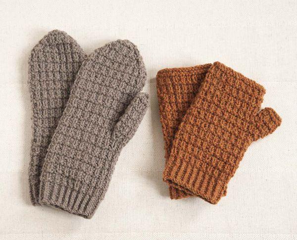 tricoter moufles