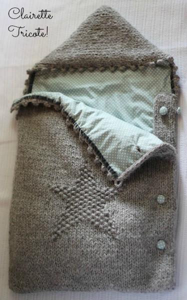 modèle tricot nid d ange