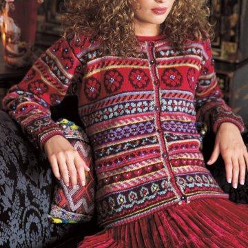 modèle tricot jacquard gratuit