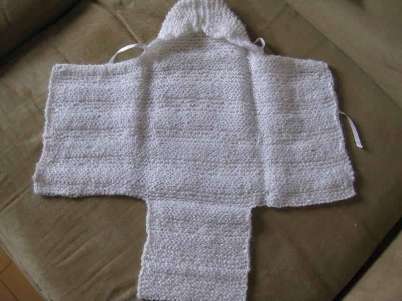 modele tricot nid d ange facile