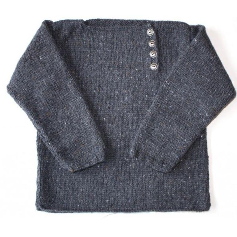 modèle tricot pull bébé debutant