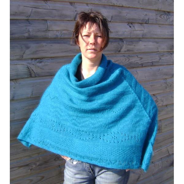 Comment tricoter un poncho?  Question / Réponse
