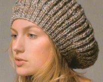 patron tricot bonnet rasta
