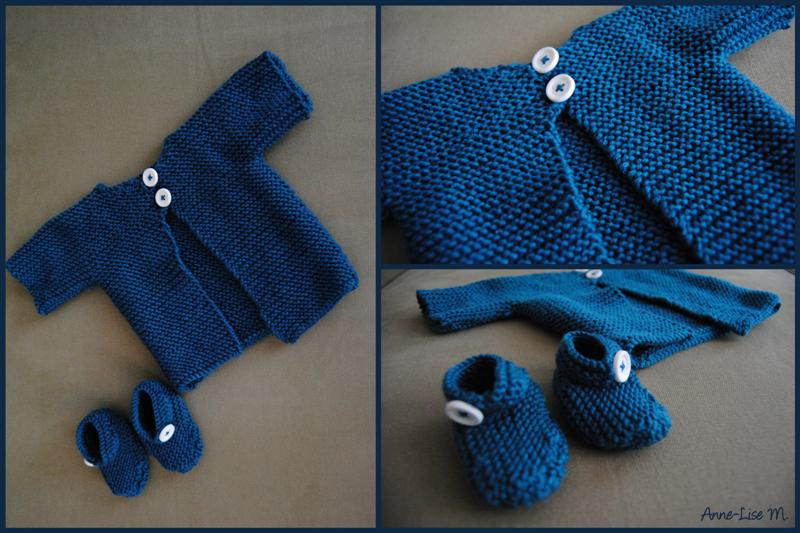modèle tricot bébé facile