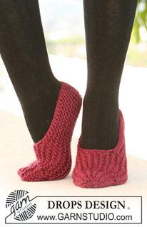 modele tricot chausson adulte gratuit