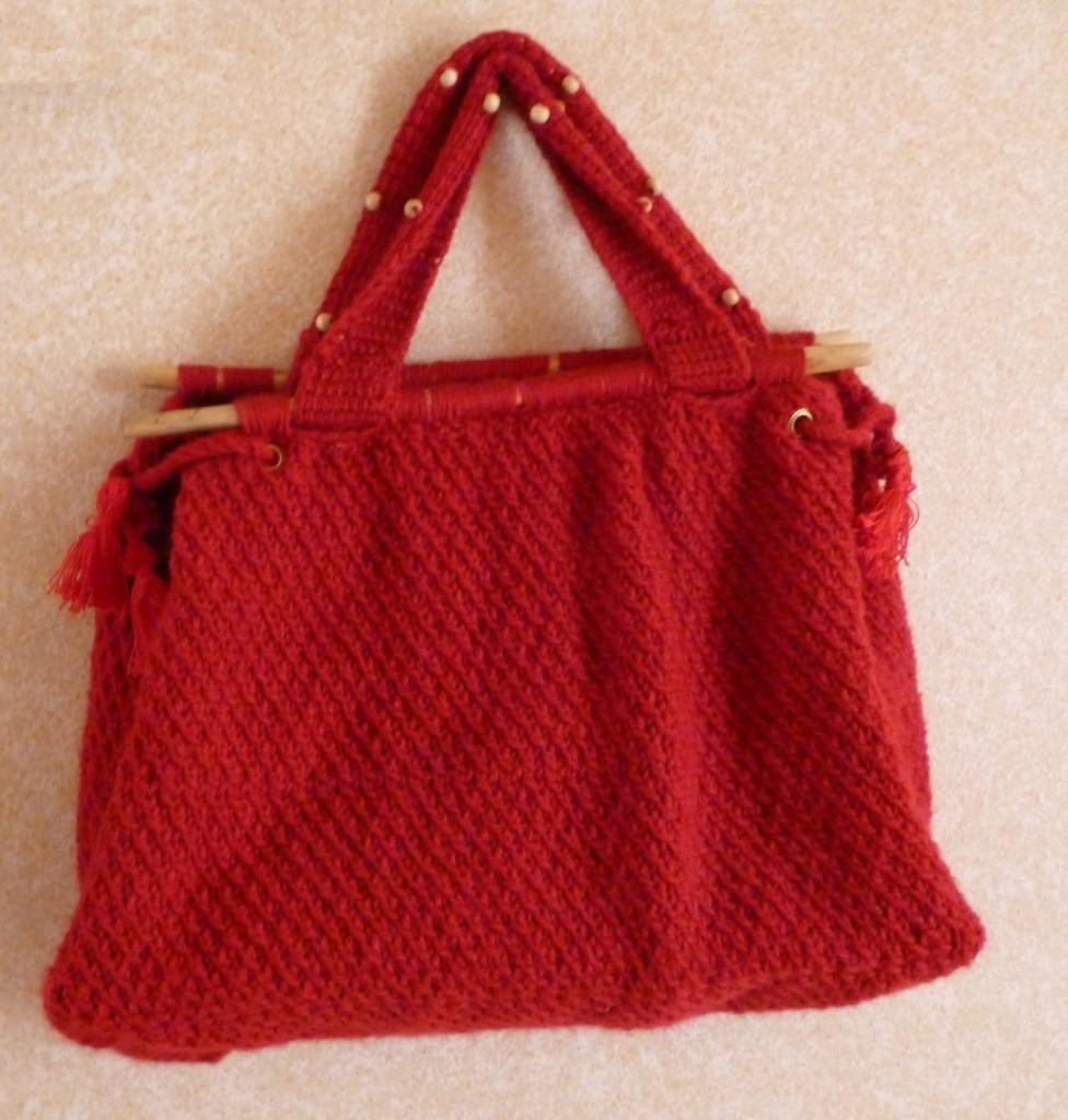 modèle tricot sac