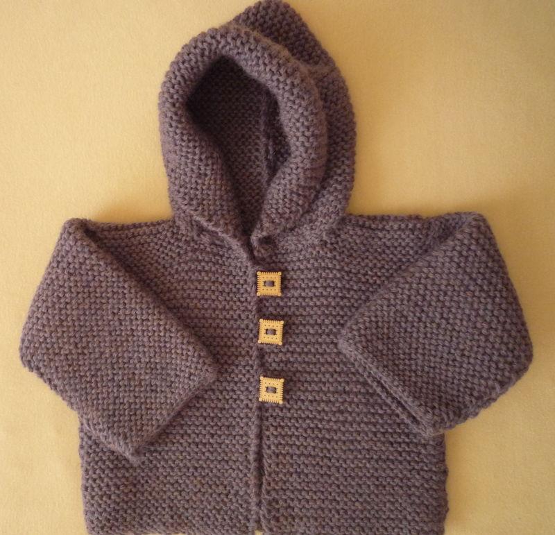 patron tricot bébé gilet