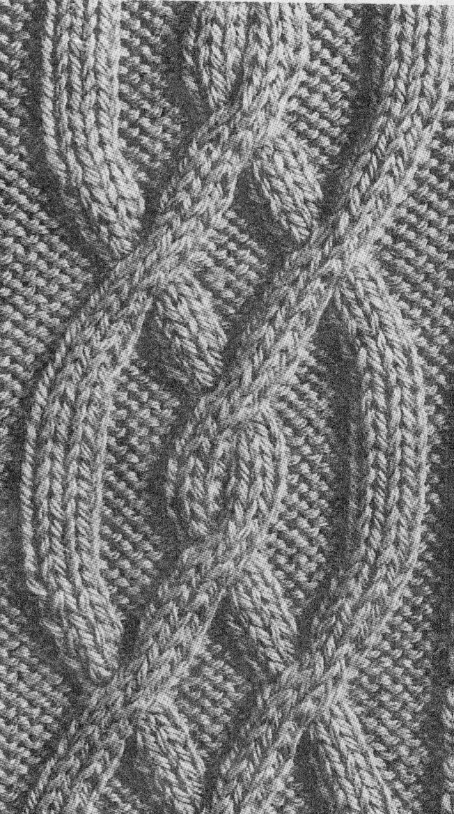 Patron tricot torsade - Comment faire des torsades au tricot ...