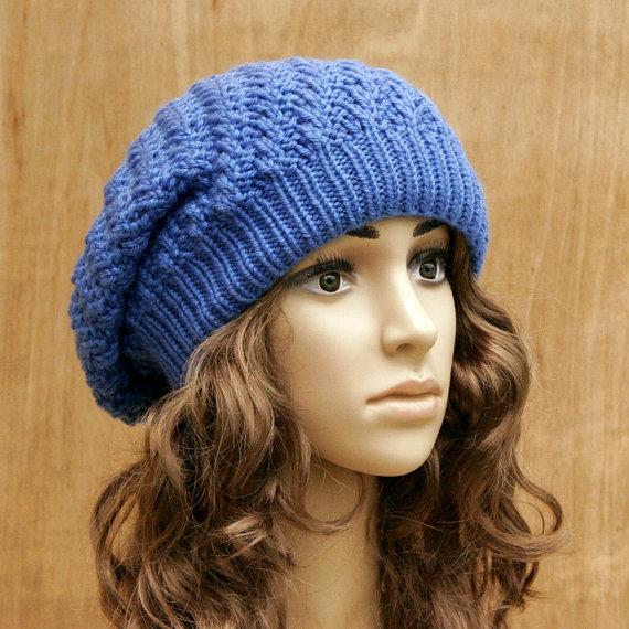 tricoter un bonnet oversize
