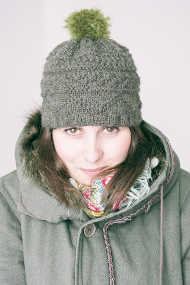modèle tricot bonnet drops