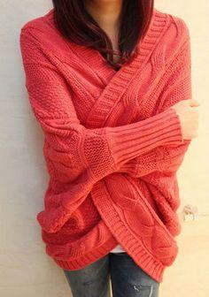 modèle tricot gilet manche chauve-souris