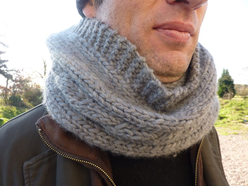 patron snood homme