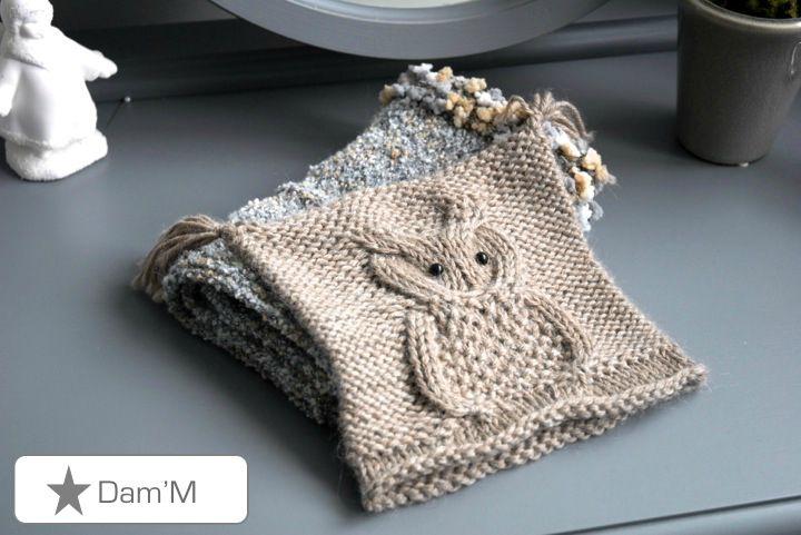 cliché patron tricot tuque hibou 1f3c99127a0