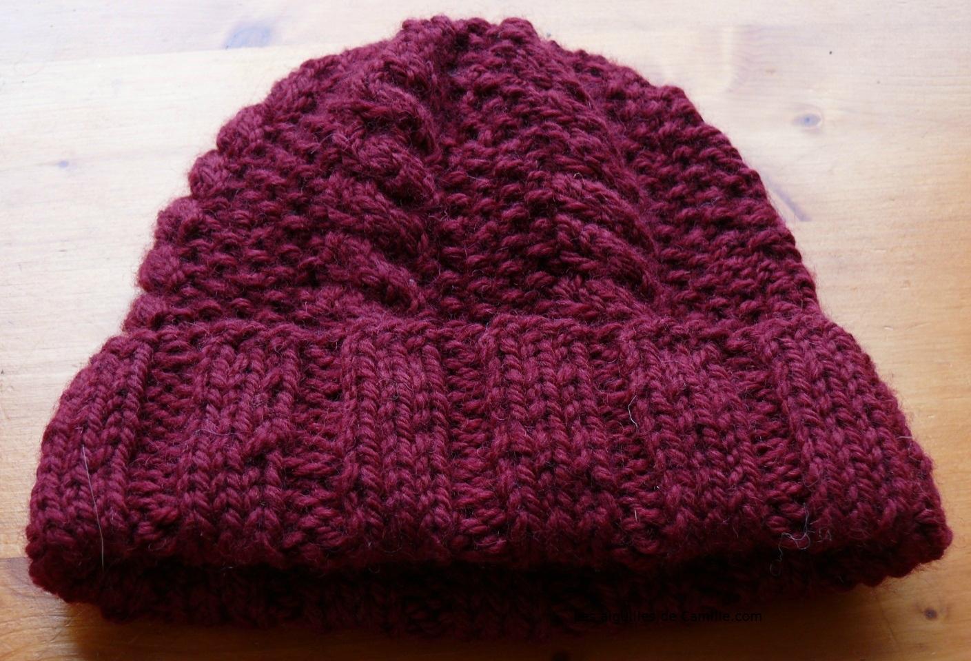 patron tricoter une tuque pour femme. Black Bedroom Furniture Sets. Home Design Ideas